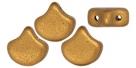 #01.04 - 25 Stück Matubo Ginko Leaf Bead 7.5x7.5mm - Bronze Gold