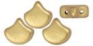 #01.03 - 25 Stück Matubo Ginko Leaf Bead 7.5x7.5mm - Aztec Gold