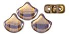 #00.05 - 25 Stück Matubo Ginko Leaf Bead 7.5x7.5mm - Crystal Bronze