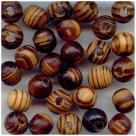 10 Stück Holzkugeln ca. 7*8 mm