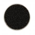 #9203 10 Gramm Rocailles opak schwarz 18/0