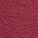 #14.13.01 - 10 g Rocailles 08/0 3,0 mm - Opaque Red Matt