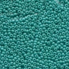#14.08 - 10 g Rocailles 12/0 2,0 mm - Opaque Green Turquoise