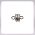 Magnetverschluss - 5x9 mm versilbert