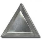 1 Stück Schale - Aluminium - Dreieckform