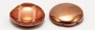 #00.03 5 Stck. 2-Hole Cabochon 18x5mm - Crystal Capri Gold