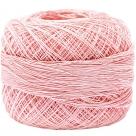 5 g Spitzen-Häkelgarn rosa N°80