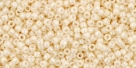 5g TOHO SeedBeads 15/0 TR-15-0123 - Opaque-Lustered Lt. Beige (C)