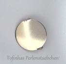 1 Anstecknadel 25mm mit Klebeplatte - Platinum