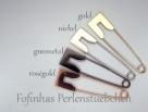 1 Stück Kilt-/Sicherheitsnadel  80x20 mm aus Metall - nickel-farben