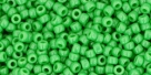 10 g TOHO Seed Beads 11/0 TR-11-0047 - Opaque Mint Green