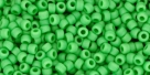 10 g TOHO Seed Beads 11/0 TR-11-0047 F - Opaque-Frosted Mint Green