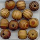 10 Stück Holzkugeln ca. 11*12 mm