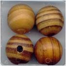 10 Stück Holzkugeln ca. 17*18 mm