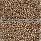 #19.06 - 10 g Rocailles 12/0 2,0 mm Metallic Bronze Semimatt