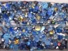 50 g Preciosa M.C. Beads MIX - Blau