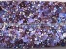 50 g Preciosa M.C. Beads MIX - Amethyst/Tansanite