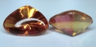 1 Glas Fancy Stone Cabochon Pointed-Back  26x18x13 mm - Crystal Apricot