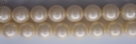 1 Strang - 10,0 mm Glaswachsperlen - pudding pearl