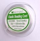 1 Rolle Miyuki Elastic Beading Cord - 0,6 - 0,8mm (5m)