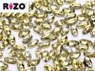 #01.11 10g Rizo-Beads Crystal Half Amber