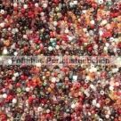 100 g MATSUNO Seed Beads 11/0 Perlensuppe Magma