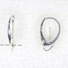 1 Paar Ohrbrisuren - 17 mm - Sterlingsilber