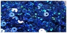 1 Gramm Pailletten 3mm Laser - blau