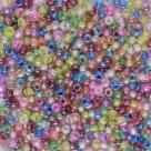 #157 10 Gramm Rocailles Farbeinzug - MIX 9/0 2,6 mm