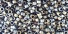 10 g TOHO Seed Beads 11/0 TR-11-0613 - Matte-Color Iris - Gray
