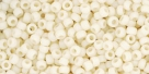 10 g TOHO Seed Beads 11/0 TR-11-0051 F - Opaque-Frosted Lt Beige