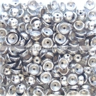 #00.05 - 50 Stück Teacup Beads 2x4 mm - Crystal Labrador Full