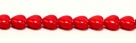 10 Glas-Herzen - 6 mm red