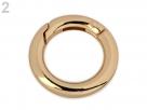 1 Ring-Verschluss Ø 18 mm - gold-farben