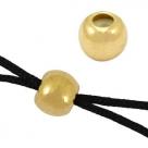 #05 - 1 Macramé-Verschluss Ø 5 mm - gold-farben