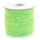 0,5 m Gummiband Stärke 1 mm - chartreuse green