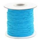 0,5 m Gummiband Stärke 1 mm - aqua blue