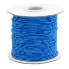 0,5 m Gummiband Stärke 1 mm - princess blue
