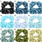 50 Stück Acrylperlen 4 mm - verschiedene Farbstellungen