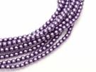 02010/24769 - 1 Strang Perlen Ø 2 mm rund - deep lilac pearl-coating