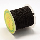 1 Rolle Gummiband Stärke 1,2 mm - black (35m)