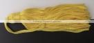 1 Stück Textil-Quaste (ca. 7,0cm) - mit Schlaufe - yellow
