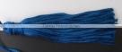 1 Stück Textil-Quaste (ca. 7,0cm) - mit Schlaufe - cobalt blue