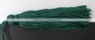 1 Stück Textil-Quaste (ca. 7,0cm) - mit Schlaufe - dk teal