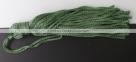 1 Stück Textil-Quaste (ca. 7,0cm) - mit Schlaufe - olive