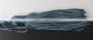 1 Stück Textil-Quaste (ca. 7,0cm) - mit Schlaufe - denim blue
