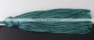 1 Stück Textil-Quaste (ca. 7,0cm) - mit Schlaufe - teal