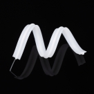 10 Stück - Pe Nasenbrückendraht weiß für Mundabdeckung - 20 cm (7.87) lang; 4 mm breit