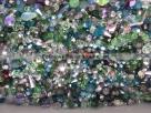 50 g Preciosa M.C. Beads MIX - Grün