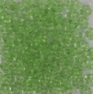 #01.08 50 Stück Blüten 5 mm - crystal chartreuse coating